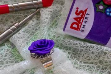 Charmante bague rose
